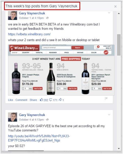 Facebook-Weekly-Status